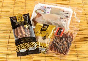 カネタツ数馬 日本海 珍味!いか味くらべ